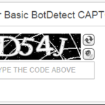 Did you say reCAPTCHA?